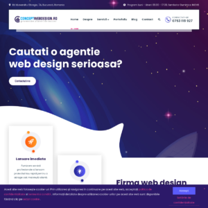 firma web design bucuresti